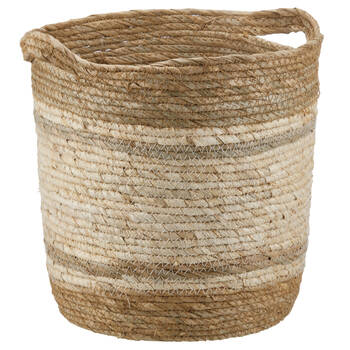 2-Tone Corn Fiber Storage Basket