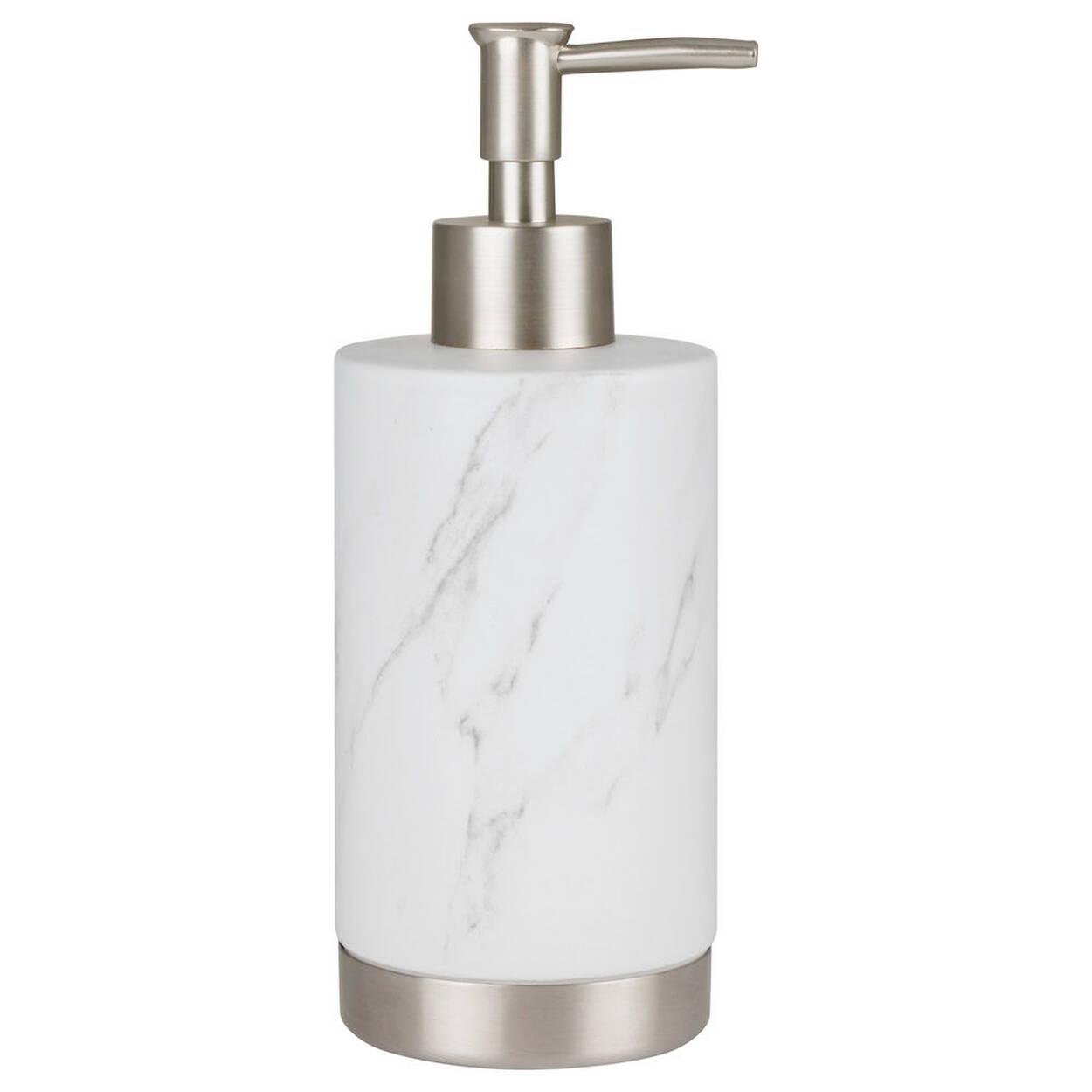 Distributeur de savon en c ramique for Accessoires de salle de bain bouclair