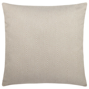 "Herringbone Jacquard Decorative Pillow 20"" X 20"""