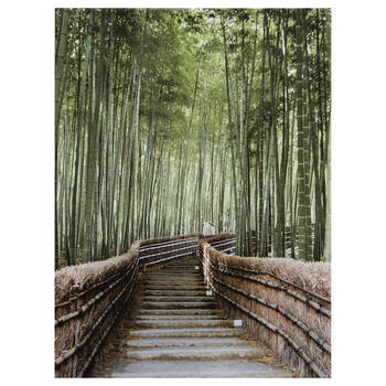 Small Bamboo Forest Printed Canvas