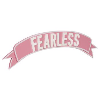 Fearless Decorative Wall Art