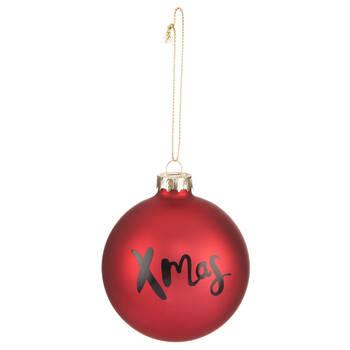 Round Xmas Ornament