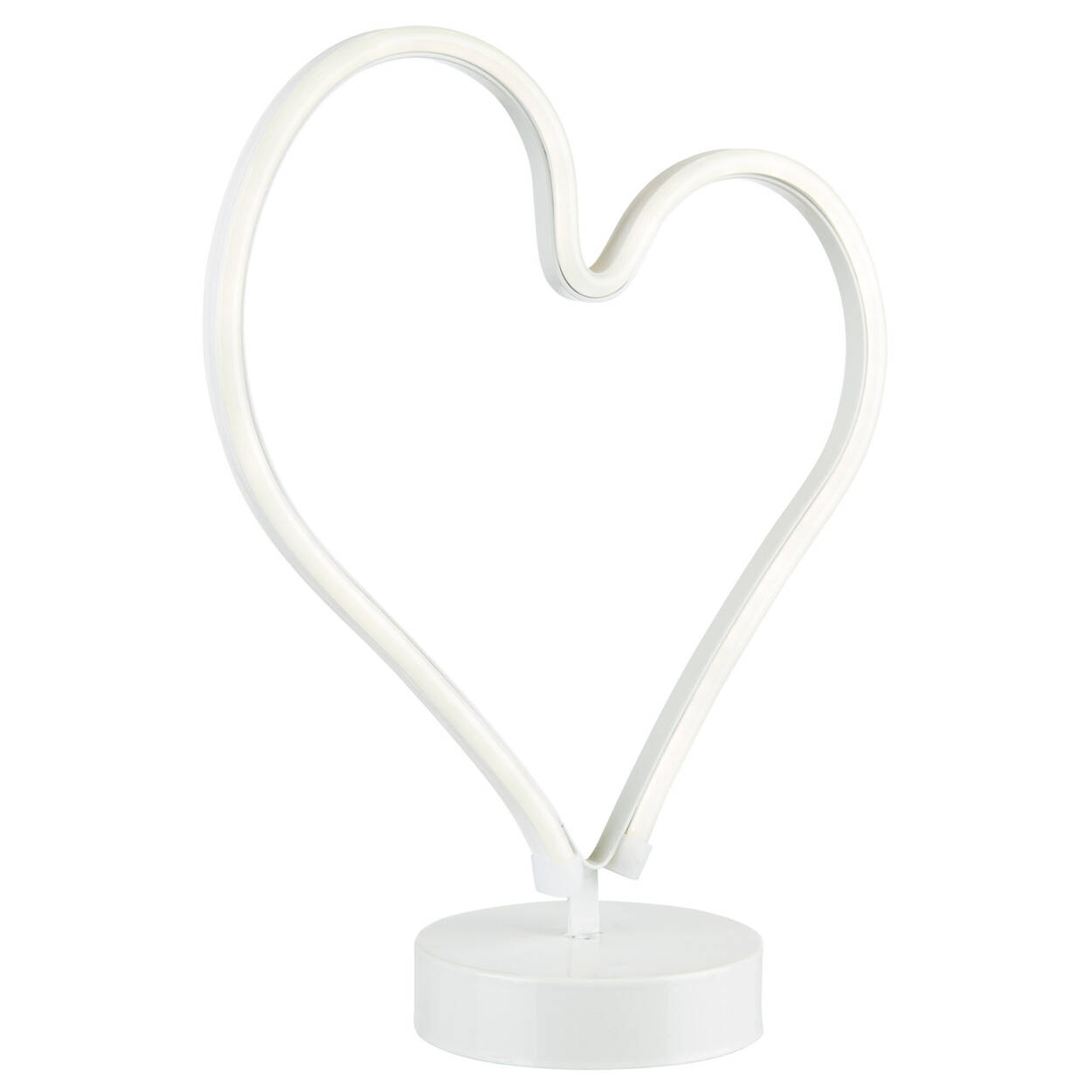 Heart Stand with LED lights