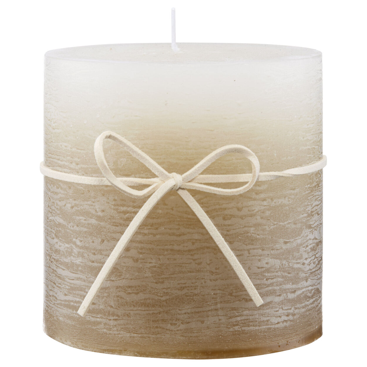 Two-Toned Pillar Candle