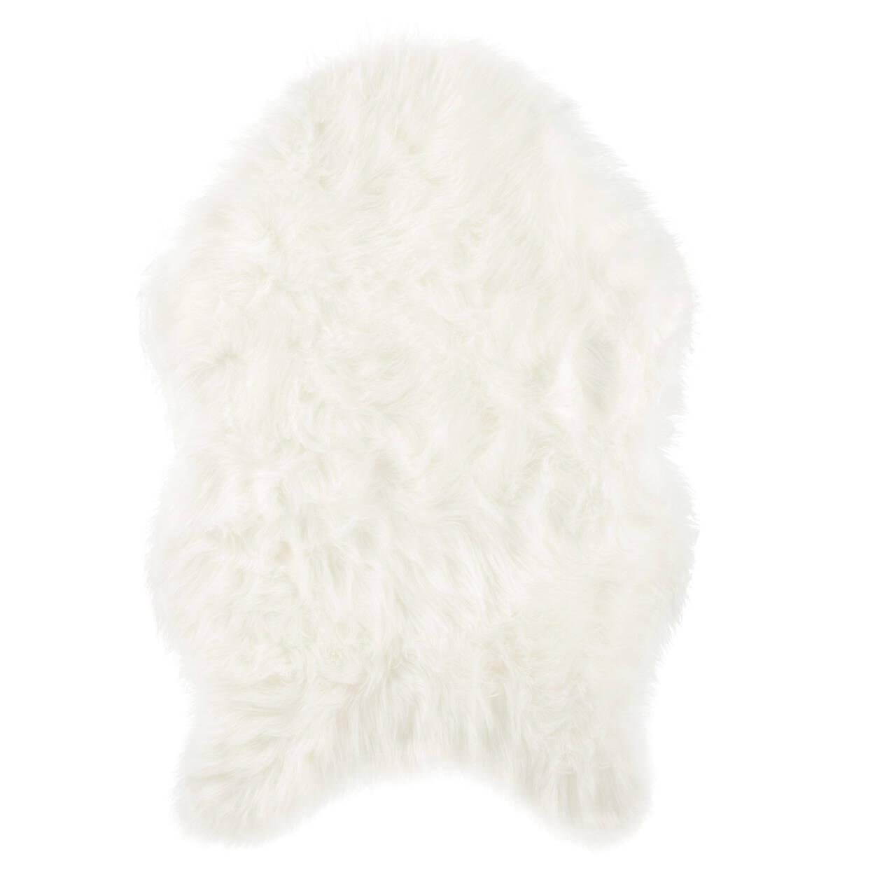 Tapis effet peau de mouton en fausse fourrure | Bouclair.com