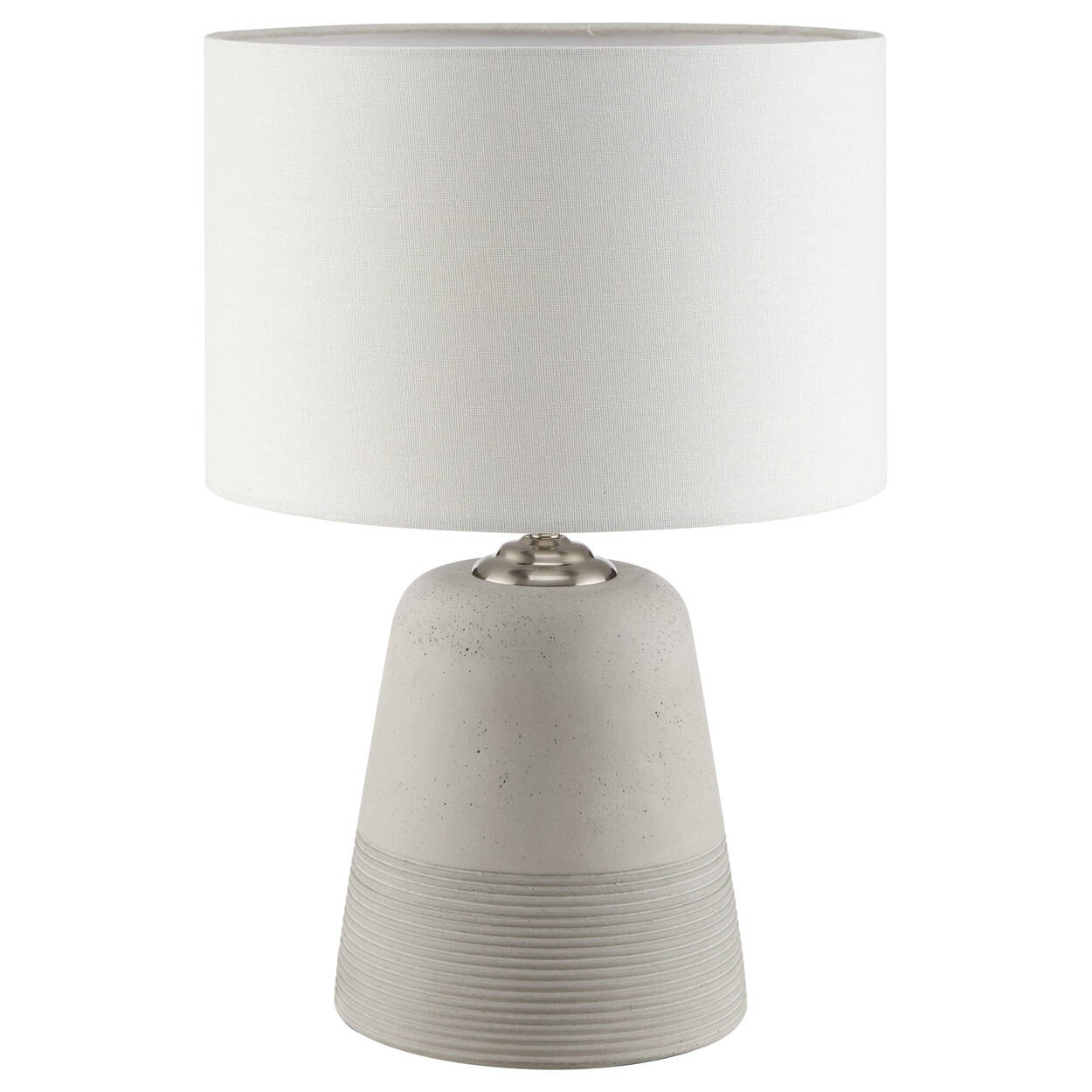 Two Toned Cement Table Lamp