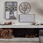 Tableau d'arbre rond en métal