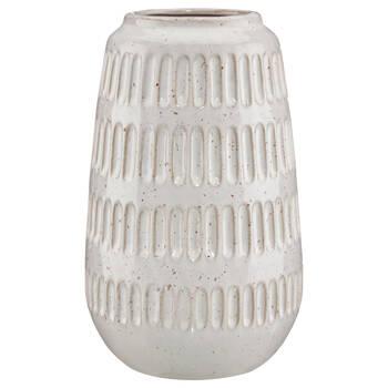 Embossed Porcelain Vase