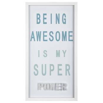 Be Awesome Framed Art