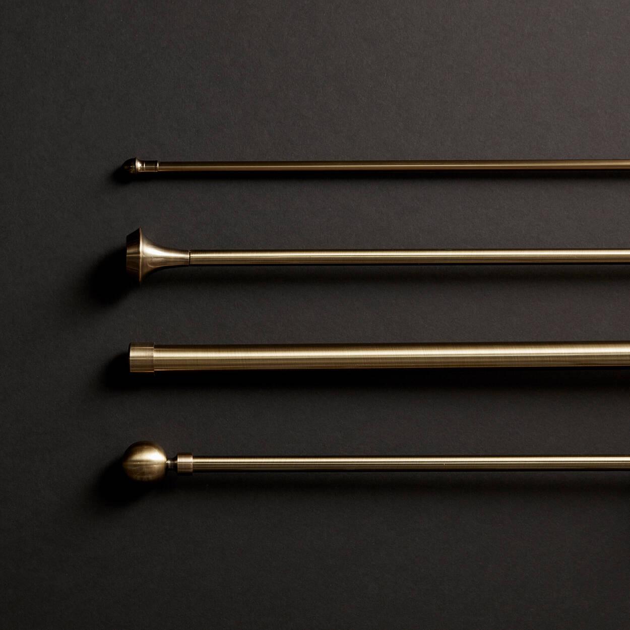 Ensemble de tringle à rideaux - Diamètre 19 mm