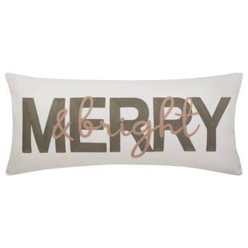 """Makota English Decorative Lumbar Pillow 12"""" x 26"""""""
