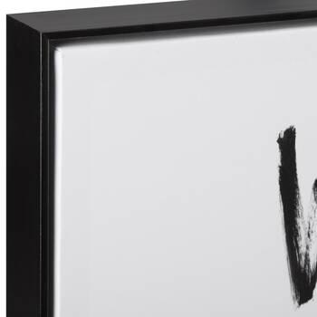 Wash Your Hands Typography Framed Art
