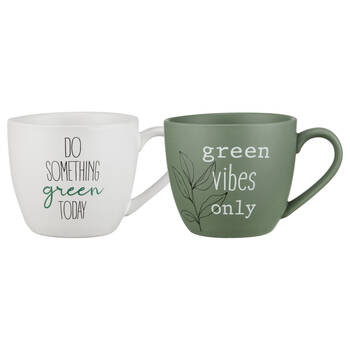 Set of 2 Eco Mugs