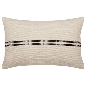 "Wabi Striped Decorative Lumbar Pillow 13"" X 20"""
