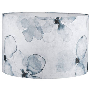 Round Blue Floral lampshade