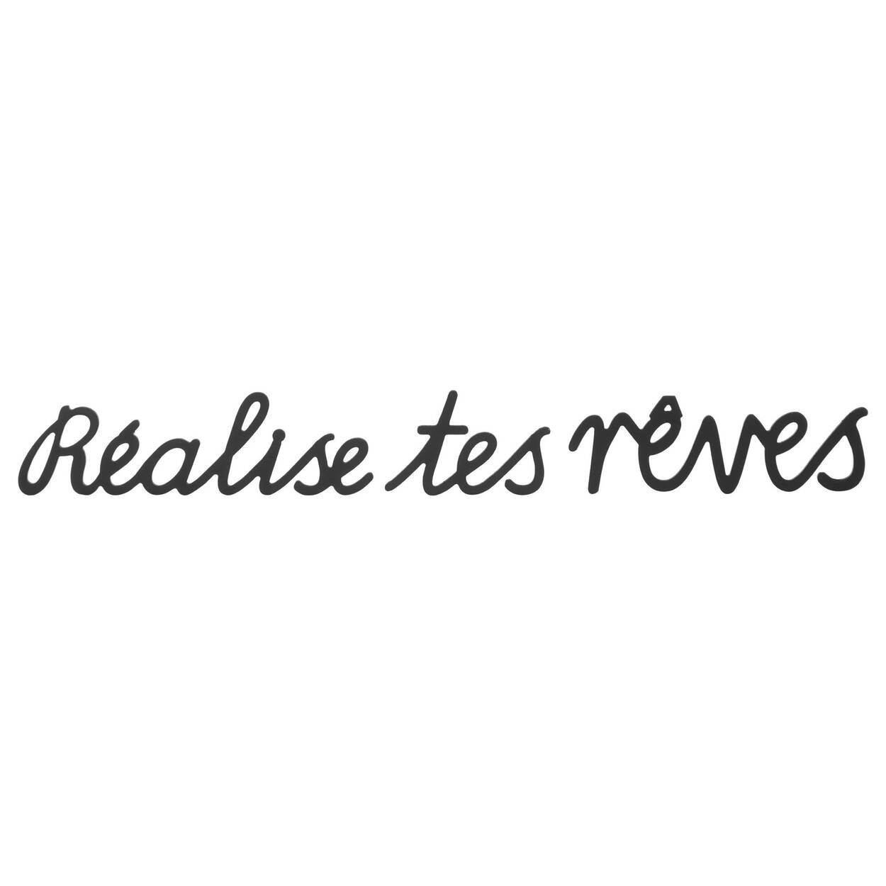 Réalise tes rêves French Wall Art