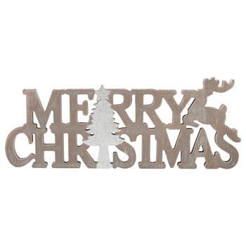 Decorative Words Merry Christmas