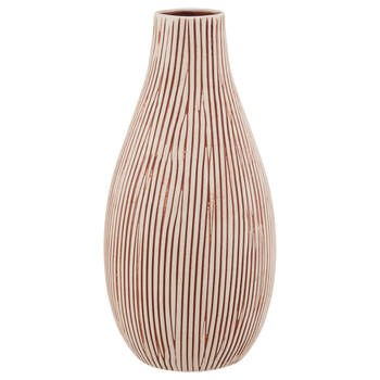 Striped Table Vase