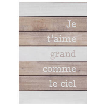Le Ciel Printed Canvas