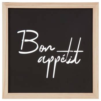 Bon Appétit Metal and Wood Wall Art