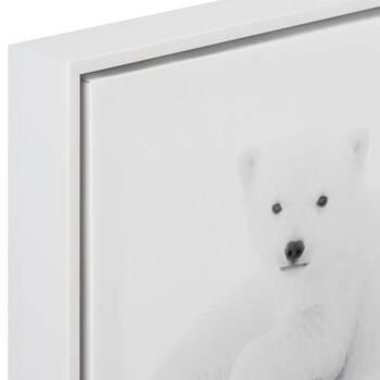 Polar Bear Family Printed Framed Art