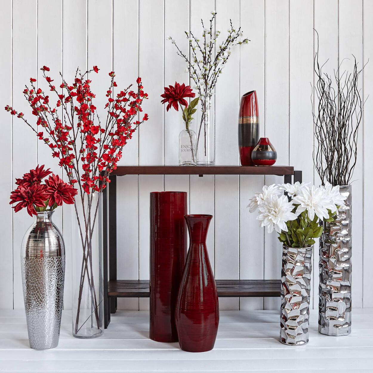 grand vase en bambou. Black Bedroom Furniture Sets. Home Design Ideas