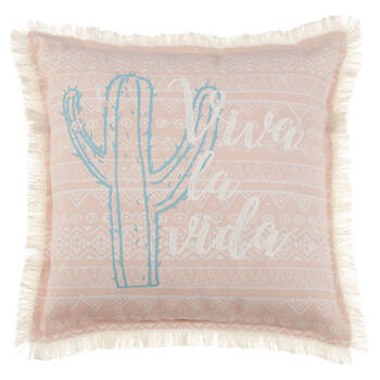 "Viva La Vida Decorative Pillow 18"" X 18"""