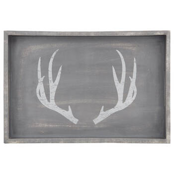 Mango Wood Deer Tray