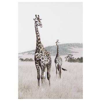 Giraffe Printed Canvas