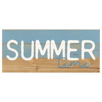 Summertime Decorative Block