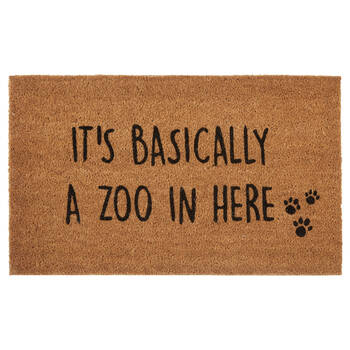 Zoo in there Doormat