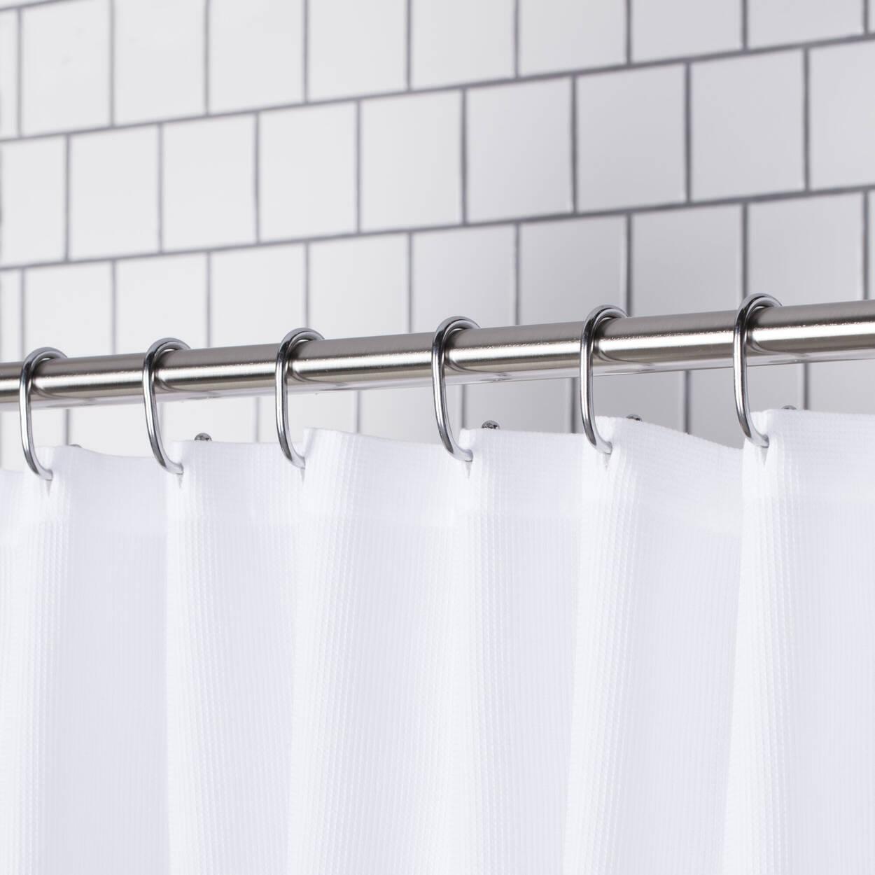 Ensemble de 12 crochets pour rideau de douche