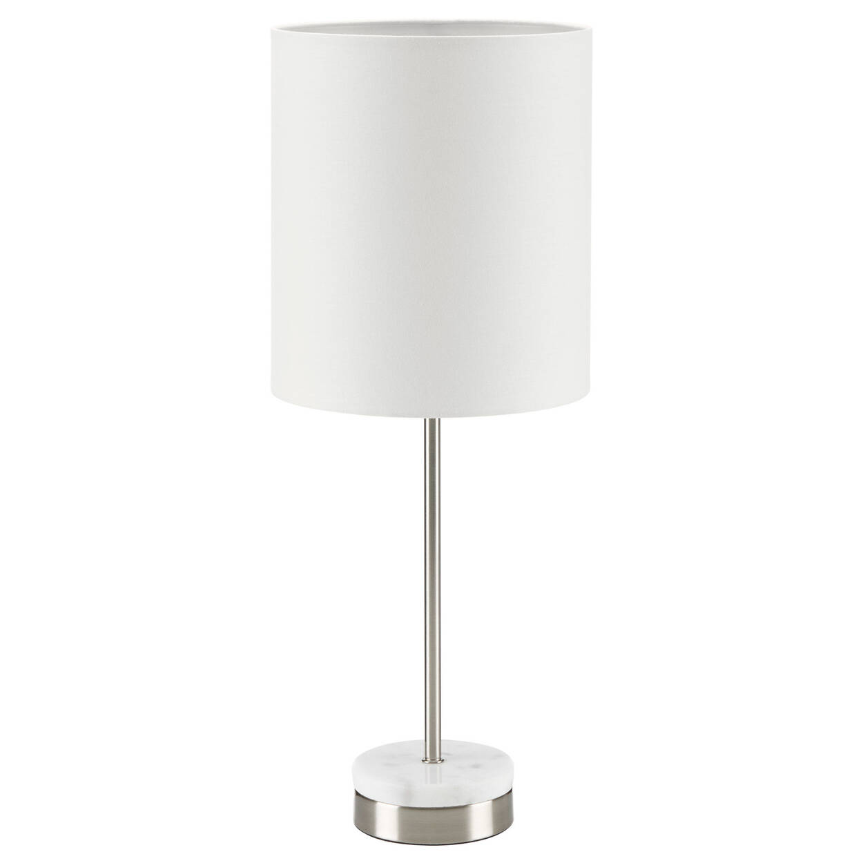 Metal and Marble Table Lamp