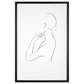 Cynthia Dulude - Silhouette Framed Art