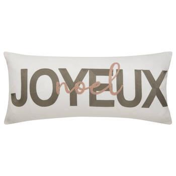 """Makota French Decorative Lumbar Pillow 12"""" x 26"""""""