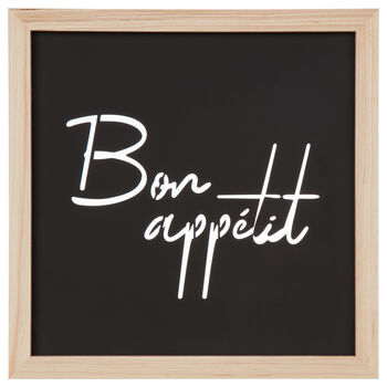Bon Appétit Metal and Wood Wall Art