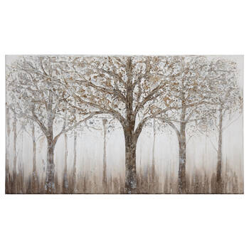Forest Oil Painted Canvas