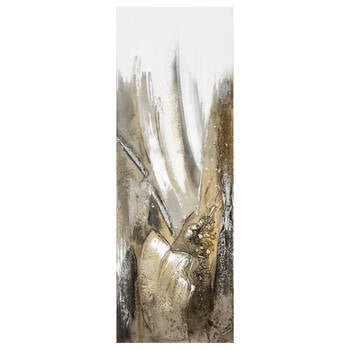 Abstract Heavy Textured Oil Painted Canvas