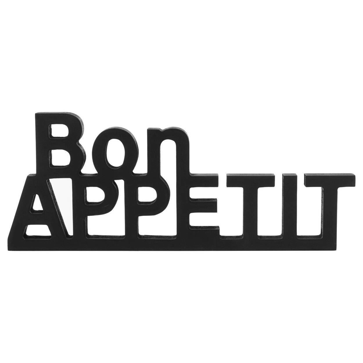 Mots décoratifs Bon Appétit 34 x 14,25 cm.