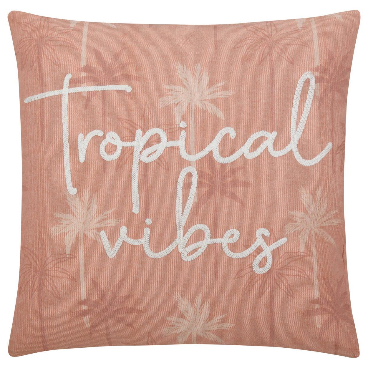 """Coussin décoratif Tropical Vibes Deana 18"""" x 18"""""""