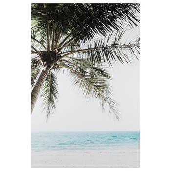 Tropical Palm Printed Canvas