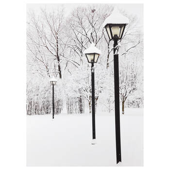 Winter Street Lamps