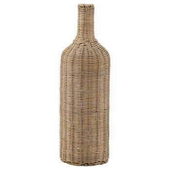 Natural Seagrass Bottle Vase