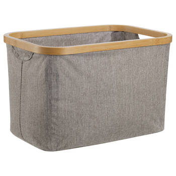 Basket with Bamboo Ring