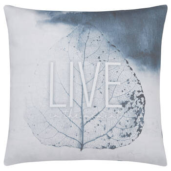 "Live Decorative Pillow 19"" x 19"""