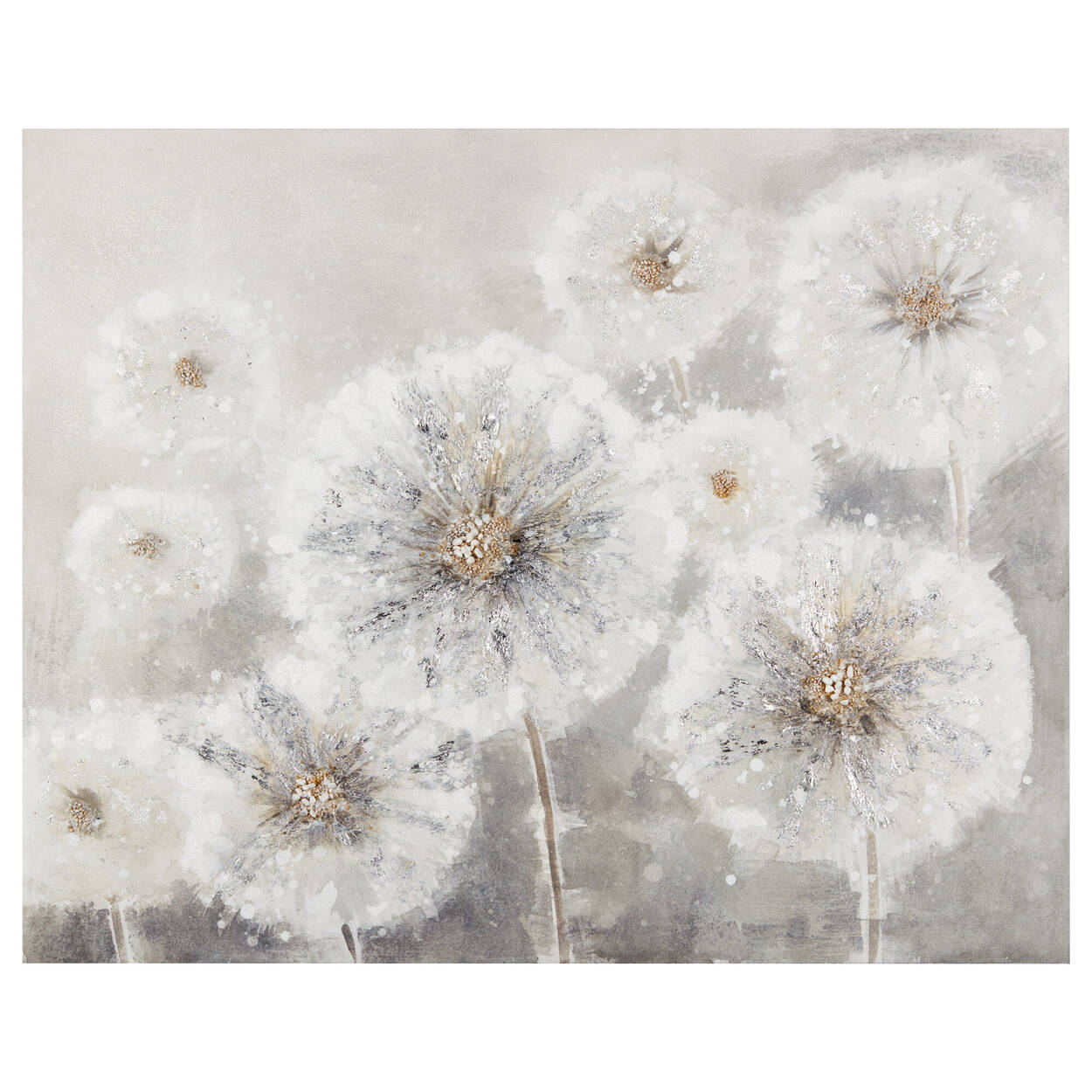 Dandelions Oil Painting