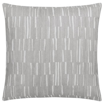 "Two-Tone Water-Repellent Decorative Pillow 18"" X 18"""