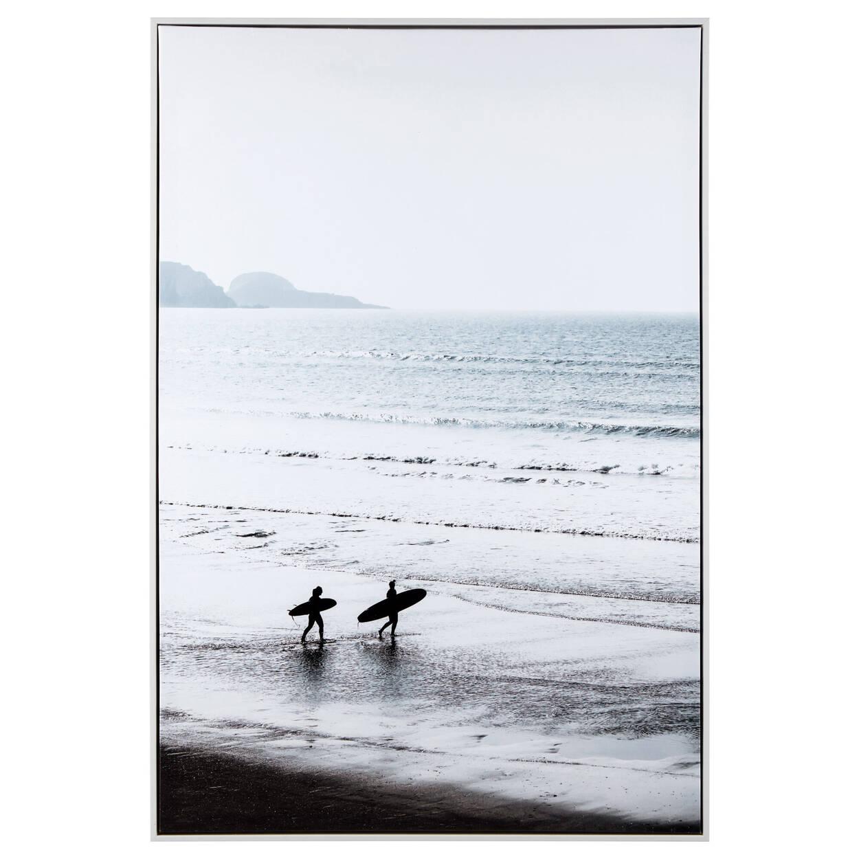Surfing Framed Art