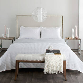 Farris Collection - 3-Piece Quilted Coverlet Set