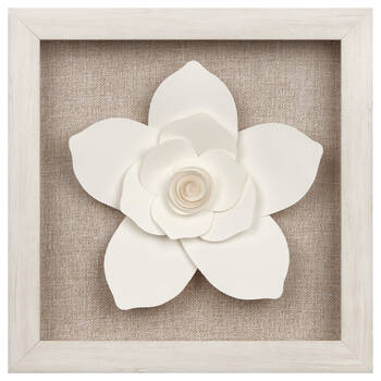 Framed Paper Flower